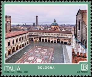 Turistica  47ª serie  - Patrimonio naturale e paesaggistico : Bologna