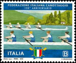 Federazione Italiana Canottaggio - 130° Anniversario della fondazione