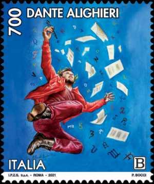 Dante Alighieri - VII Centenario della scomparsa  - Paradiso