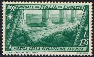 1932 - Espressi - Decennale della Marcia su Roma
