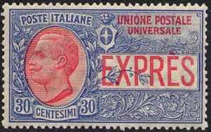 1908 - Espresso per l'estero - tipo Leoni