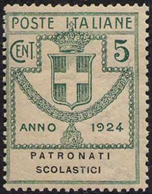 1924 - Enti Semistatali - Regno - Patronati Scolastici