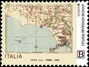 Europa - 65° serie - Carta delle comunicazioni postali del Regno d'Italia - 1930