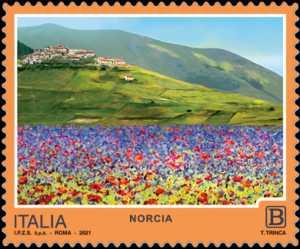 Turistica  47ª serie  - Patrimonio naturale e paesaggistico : Norcia (PG)
