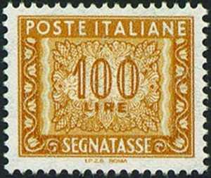 2000 - Segnatasse  Repubblica - Tipi del 1961con dicitura «I.P.Z.S.  ROMA» sul margine inferiore