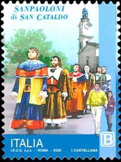 Le Festività : I Sanpaoloni di San Cataldo