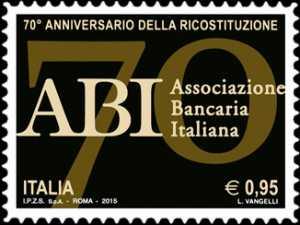 70° Anniversario della ricostituzione dell' ABI - Associazione Bancaria Italiana