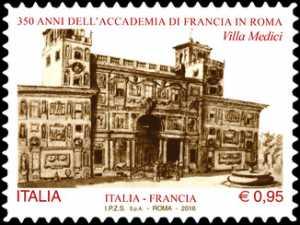 350° Anniversario della fondazione  della Accademia di Francia in Roma