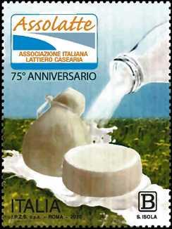 ASSOLATTE : Associazione Italiana Lattiero-Casearia - 75°  Anniversario della fondazione