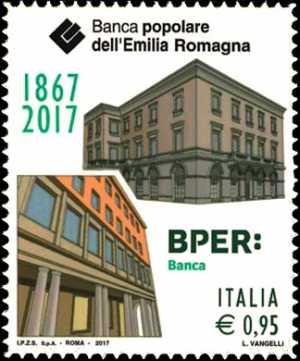 Banca Popolare dell'Emilia Romagna  ( BPER ) - 150° anniversario della fondazione