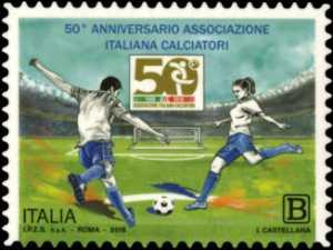 Lo Sport  : Associazione Italiana Calciatori - 50° Anniversario della fondazione