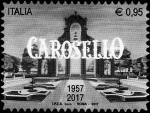 Patrimonio artistico e culturale italiano  - Carosello - 60° anniversario della prima messa in onda