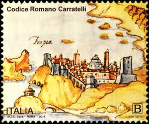Patrimonio artistico e culturale  italiano : Codice Romano Carratelli
