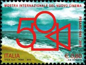 Patrimonio artistico e culturale  italiano : 50° Anniversario della fondazione della Mostra internazionale del nuovo cinema di Pesaro