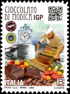 """Le eccellenze del sistema produttivo ed economico """" - Cioccolato di Modica  I.G.P."""