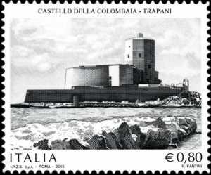 Patrimonio artistico e culturale italiano :  Castello della Colombaia   - Trapani