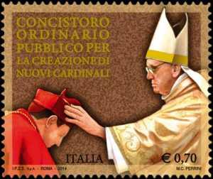 Concistoro ordinario pubblico per la creazione di nuovi cardinali