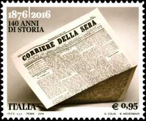 140° Anniversario della fondazione del quotidiano  «Corriere della Sera»
