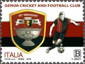 Genoa Cricket and Football Club - 125° Anniversario della fondazione