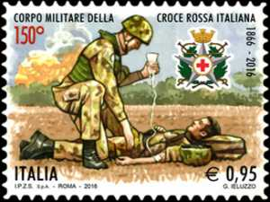 150° Anniversario della istituzione del Corpo Militare della Croce Rossa Italiana