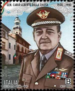 Il senso civico  -  Generale Carlo Alberto Dalla Chiesa - Centenario della nascita