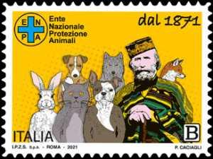 E.N.P.A.  Ente Nazionale Protezione Animali - 150° Anniversario dell'Istituzione