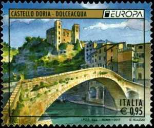 Europa - 62° serie -  Castello Doria - Dolceacqua