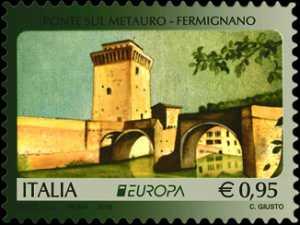 Europa - 63° serie -  Ponte sul Metauro - Fermignano