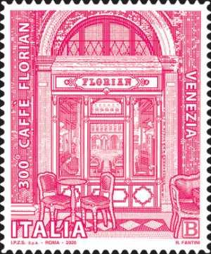 Caffé Florian - 300° Anniversario di attività
