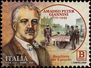 Amadeo Peter Giannini - 150° Anniversario della nascita