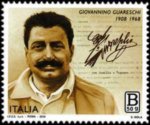 Patrimonio artistico e culturale italiano :  Cinquantenario della scomparsa di Giovannino Guareschi