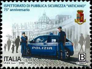 Ispettorato di Pubblica Sicurezza Vaticano - 75° Anniversario della istituzione
