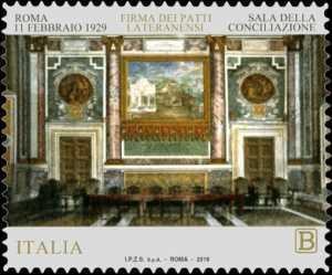 90° Anniversario della firma dei Patti Lateranensi