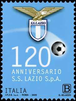 Lo Sport : S.S. Lazio S.p.A. - 120° Anniversario della fondazione