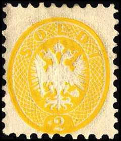 1863 - Quarta emissione - Aquila bicipite a rilievo in ovale