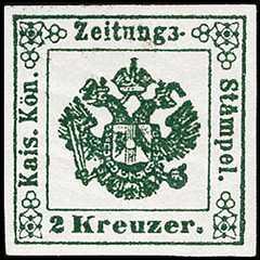 1853 - Segnatasse per giornali