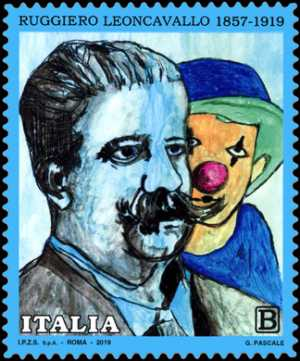 Patrimonio artistico e culturale  italiano : Ruggiero Leoncavallo - Centenario della scomparsa