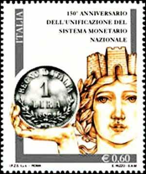 Lira Italiana - 150° anniversario