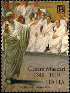 Patrimonio artistico e culturale italiano : Cesare Maccari - Centenario della scomparsa