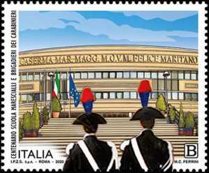 Scuola Marescialli e Brigadieri dei Carabinieri - 100° Anniversario dell'inizio delle attività