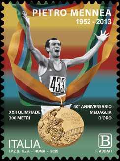 Pietro Mennea - 40° Anniversario della medaglia d'oro alle Olimpiadi di Mosca.