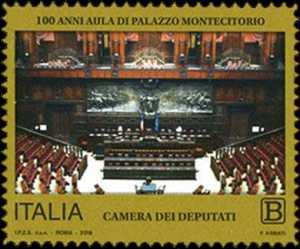 Centenario della inaugurazione dell'Aula di Palazzo Montecitorio