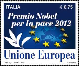 Premio Nobel per la Pace 2012 all'Unione Europea