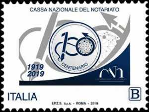 Cassa Nazionale del Notariato - Centenario della costituzione