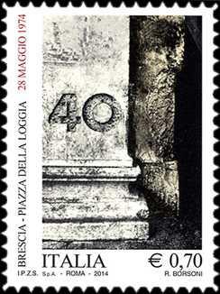 40° Anniversario della strage di Piazza della Loggia - Brescia