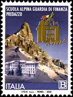 Scuola Alpina della Guardia di Finanza di Predazzo - Centenario della istituzione