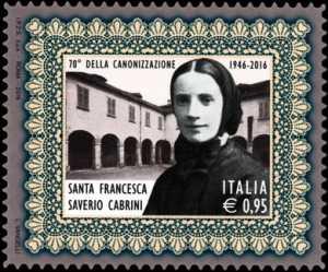 70° Anniversario della canonizzazione di Santa Francesca Saverio Cabrini