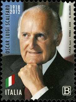 Presidenti della Repubblica : Oscar Luigi Scalfaro - Centenario della nascita