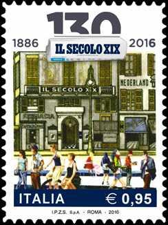 130° Anniversario della fondazione del quotidiano  « Il Secolo XIX »