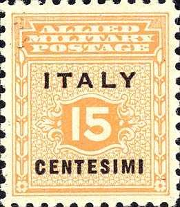 Governo alleato  per la Sicilia - 15 c.